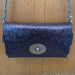 Brand new with tags rare Coach glitter handbag!